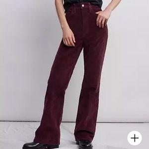 RIBCAGE BOOTCUT CORDUROY WOMEN'S PANTS